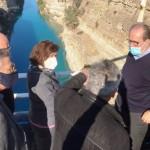 Μέτρα για την αποκατάσταση της ασφαλούς ναυσιπλοΐας στην διώρυγα της Κορίνθου