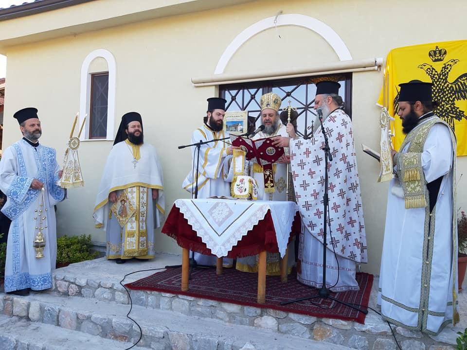 Περίλαμπρα εγκαίνια του Ιερού Ναού Αγίου Οικουμενίου Τρικάλων (φώτο) - ΕΚΚΛΗΣΙΑ