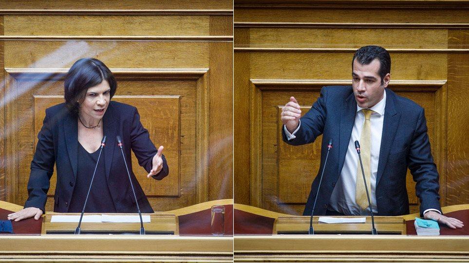 Η Σουλτάνα Ελευθεριάδου του ΣΥΡΙΖΑ μίλησε για «πολιτικούς κρατούμενους» - «Τον Κουφοντίνα εννοείτε;» απάντησε οργισμένος ο Πλεύρης - ΠΟΛΙΤΙΚΗ