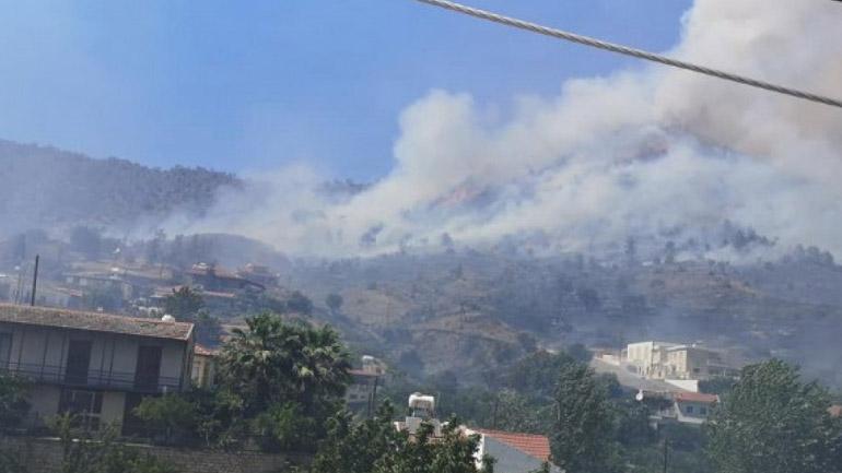 «Ασφαλείς» πλέον οι πληγείσες κοινότητες από την πυρκαγιά στην Κύπρο - ΔΙΕΘΝΗ