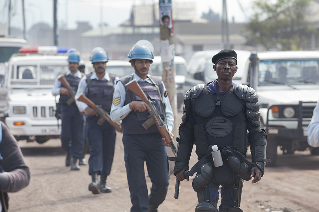 Congolese-police