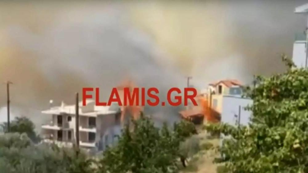 Φωτιά στην Πάτρα: Εκκενώνεται το Σούλι – Καίγονται σπίτια - ΕΛΛΑΔΑ